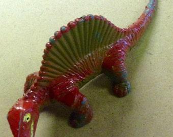 Vintage Iguanadon Plastic Dinosaur
