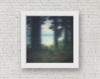 Ocean Water Print, Fine Art Photography, Limited Edition, Australia. Abstract Coastal Art, Large Beach Art, Ocean Giclee, Rainforest, Forest