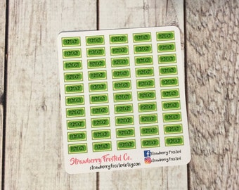 MINI SIZE Payday Stickers -Planners//Personal Size  Planner