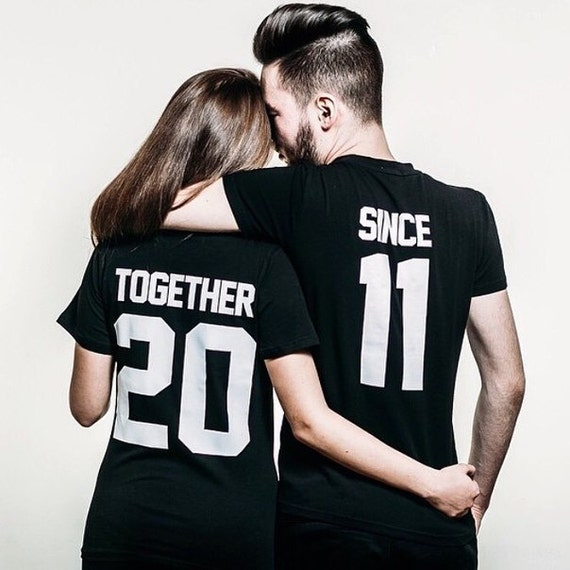 Any number price for 1 t shirt together since t shirt for Best couple t shirt design