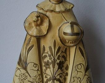 Antique Infant of Prag Chalkware statue Religious Figurine