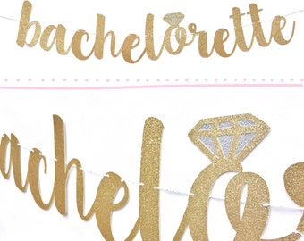 Bachelorette Banner | Bachelorette Sign | Bachelorette Party Decorations | Bachelorette Decorations | Bachelorette Decor | Bridal Shower