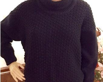 4 Popcorn Sweater with Cut Neckline (Audio Tutorial for Passap DUO 80 & E6000 Knitting Machine) Short-Cut Shapings (R)