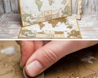 1st Anniversary Gift for Him – Stratch off Map of the World by The Map Lab