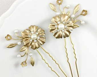 Jeanette hair pins - set of 2