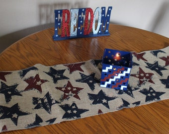 Independance Day Table Runner, Table Runner, 4th of July, Memorial Day
