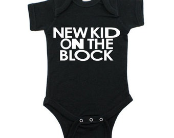 New Kid on The Block Onesie Various Colors Available
