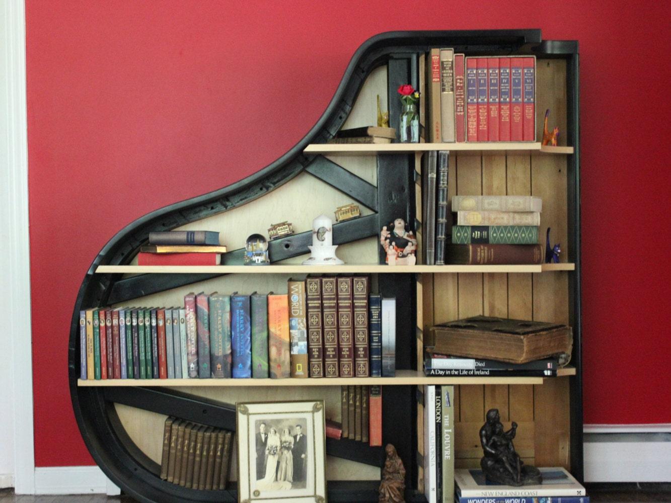 grand piano bookshelf - 28 images - 54 best piano bookcase