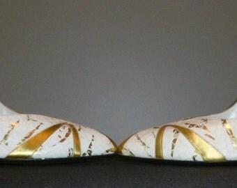 Vintage 1980's Unworn Gina London Court / Stiletto Shoes UK 5 Free UK Shipping