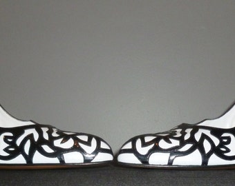 Vintage 1980's Unworn Bally Court / Stiletto Shoes UK 5.5 - 6 Free UK Shipping