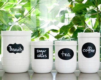 Chalkboard Labels Contact Paper