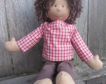 "Waldorf inspired doll ""Felix"""