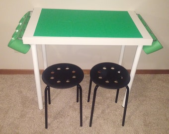 Tall LEGO® Table with Storage