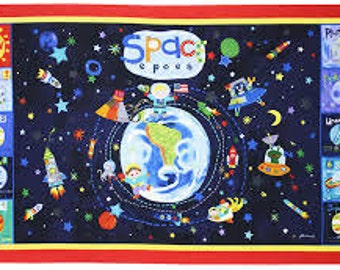 SALE!  P & B _ Out of This World Panel_ Space