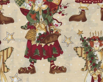 Angels - Per Yd - Darling Quilt Back - Alexander Henry Fabrics