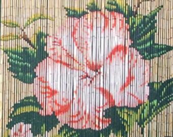 Single Flower Curtain