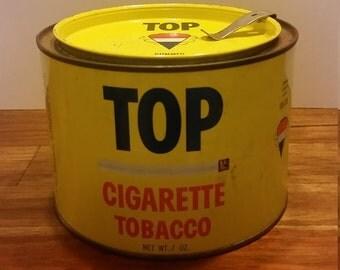 Top Tobacco Tin