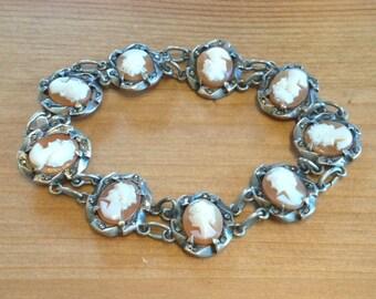 Italian Antique Silver Bracelet