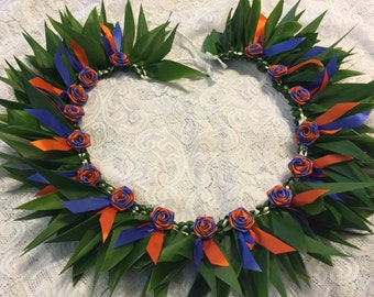 Hawaiian Ti Leaf Ribbon Lei