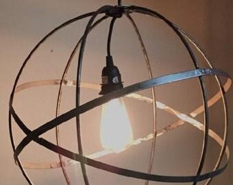 Metal Globe Light