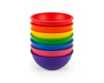Lollaland Mealtime Set Bowl: Microwave/Dishwasher-Safe and Made in USA
