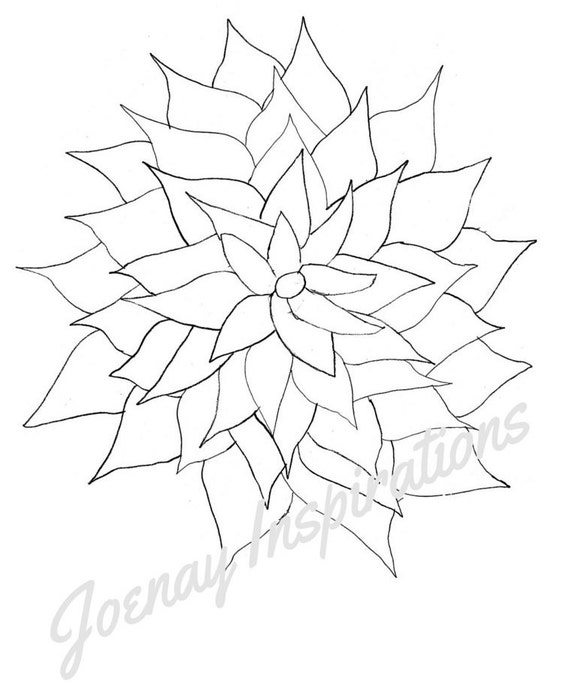 Adult Coloring Book, Printable Coloring Pages, Coloring Pages, Coloring Book for Adults, Instant Download, Fancy Flowers 3 page 3