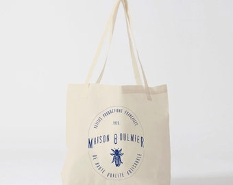 Tote Bag Royal Blue House Boulmier