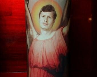 Anders Holmvick - Workaholics -  Celebrity Saint Prayer Candle