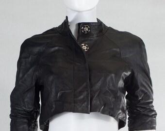 Shrug Leather Jacket