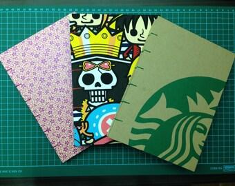 Coptic stitched hardcover notebook (Basic)