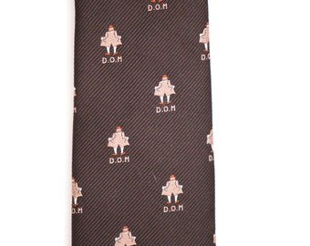 """Vintage 1970's Novelty Tie """" Streaker"""" 