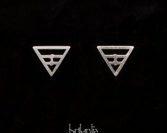 Isosceles earrings
