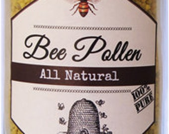 All Natural 100% Bee Pollen ~ FRESH!  10 oz
