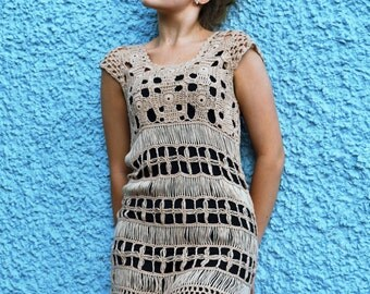 Amazing vintage crochet dress
