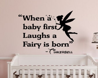 When A Baby First Laughs Wall Decal  Wall Words Wall Quotes Wall Words Part 33