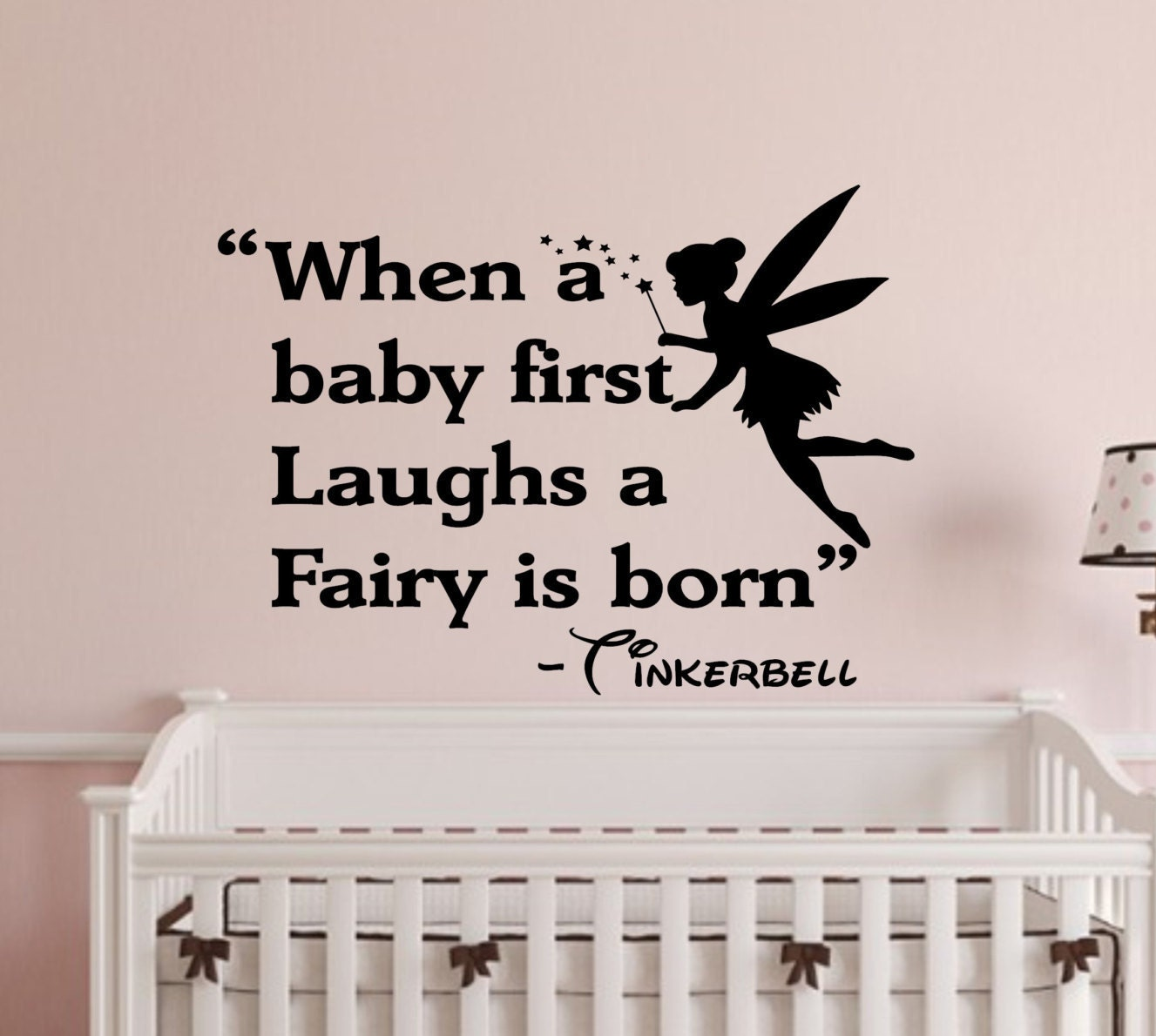 When a baby first laughs wall decal wall words wall zoom amipublicfo Choice Image