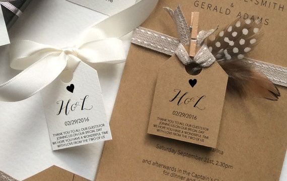 Wedding Gift Bag Tags Template : Wedding Favor Tag Template, editable favor tags added to your guests ...