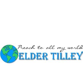 Missionary Stationary, Elder