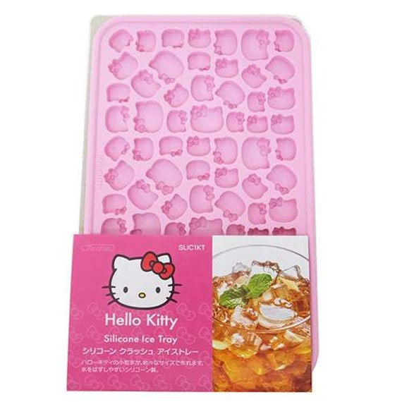 hello kitty silicone mold ice tray silicone moud moule en. Black Bedroom Furniture Sets. Home Design Ideas