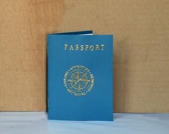 Passport, Travel Scrapbook Passport, Travel Notebook, Vacation gifts, Scrapbook Album, Travel scrapbook, Travel gifts, Travelogue