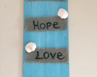 Coastal Faith, Hope, and Love