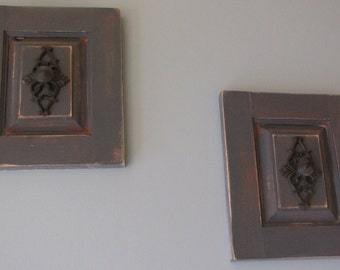 Antiqued Wall Decor **FREE SHIPPING within United States**