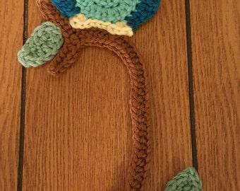 Crochet Owl Bookmark. Handmade.