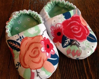 Baby and Toddler Soft Sole Shoes, reversible