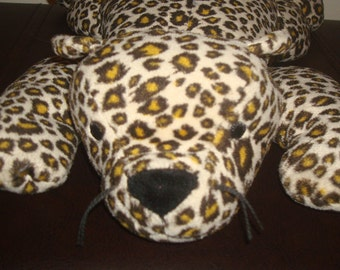 "Large Beanie Baby Leopard ""Freckles"" Vintage 1996 Retired"