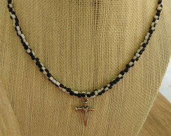 Men's 20in.Nail Cross Necklaces