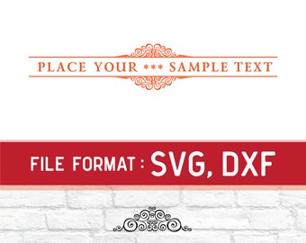 Floral Frame SVG Files, Pattern Frames SVG Files, Floral Frames SVG Cutting File, Frames Svg File for Cricut Vinyl Cutters, Instant Download