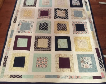 Custom Square in Square Quilt