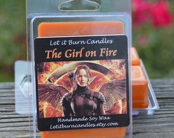 The Girl on Fire The Hunger Games Scented Soy Wax Tart Melts