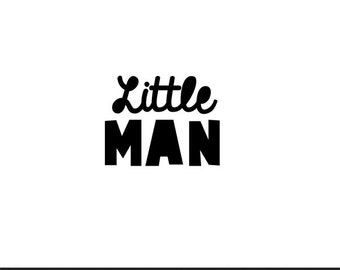 little man svg dxf file instant download silhouette cameo cricut clip art commercial use